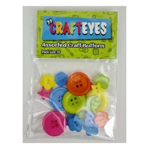 crsfteyes assorted size and shape craft buttons minuenta