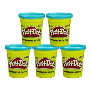 playdoh 5 pack turquoise minuenta
