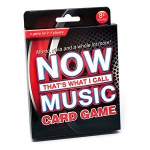 now thats what I call music card game minuenta